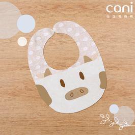 cani有機棉 小牛涼感口水巾
