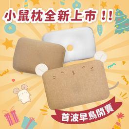 ✦6月團購組✦【雙枕套組】 airwave護頭枕(小鼠款)