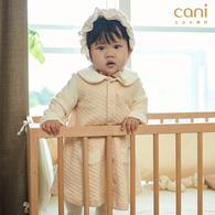 ✦秋冬新款✦兔耳小圓領兩穿洋裝